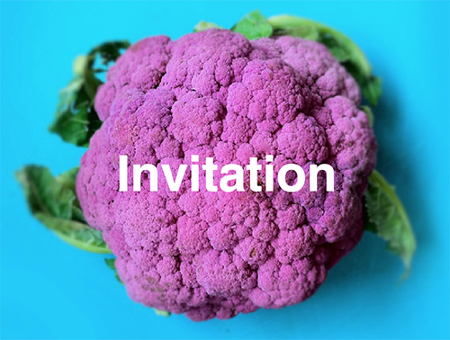 You're invited…